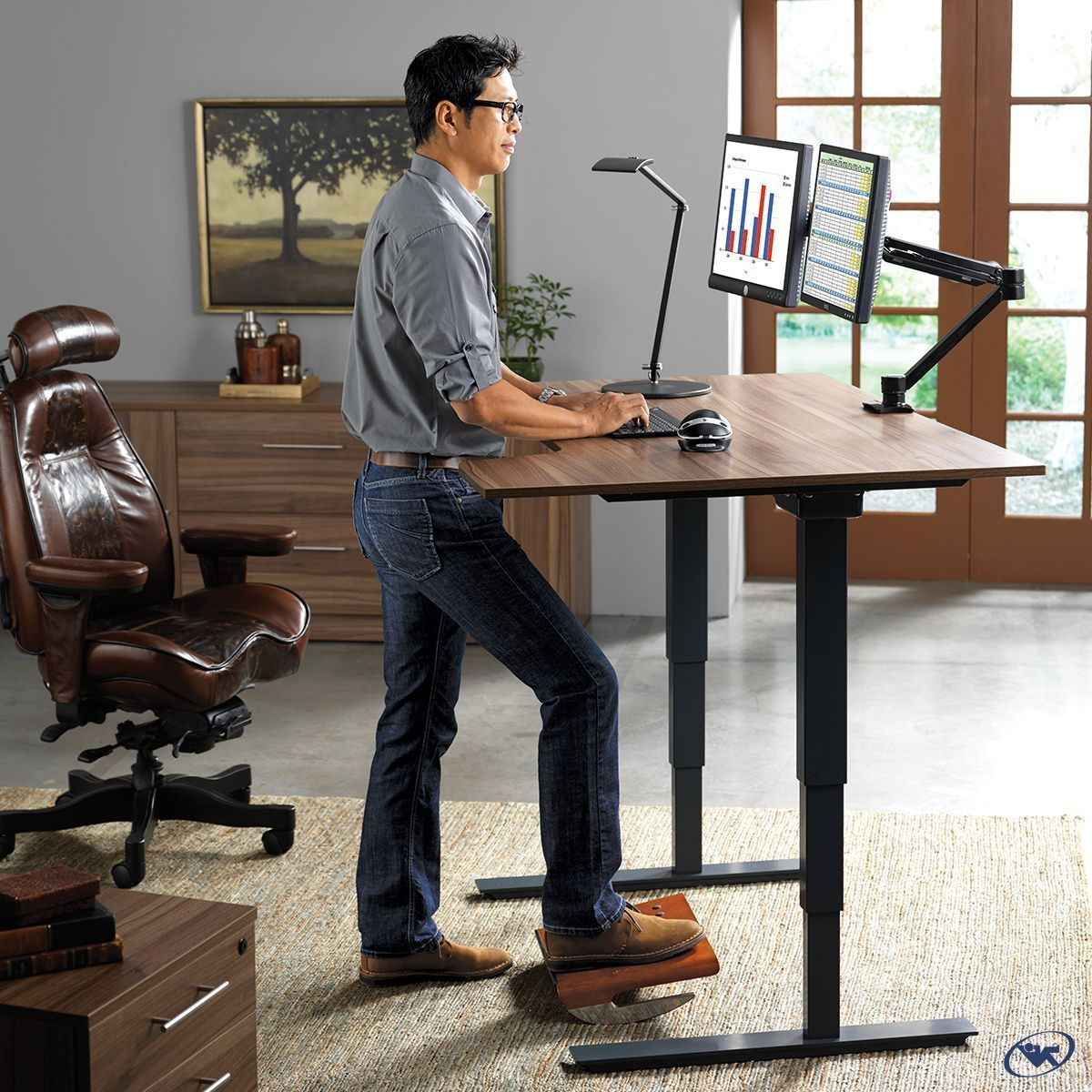 Your workspace is a system based on whole body ergonomics