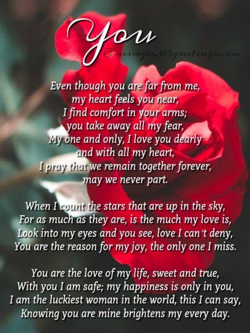 Romantic Love Poems True Love Poems Romantic Love Poems