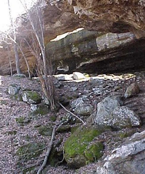 Natural Bridge At Alum Cove In Newton County Arkansas Picture Of Faces In The Rocks 1 From Rootsweb Newton Co Natural Bridge Places To Visit The Rock