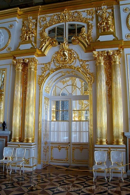 catherines palace in st pushkin russia sch nheiten. Black Bedroom Furniture Sets. Home Design Ideas