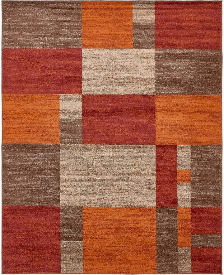 Bridgeport Home Jasia Jas14 Multi 8' x 10' Area Rug