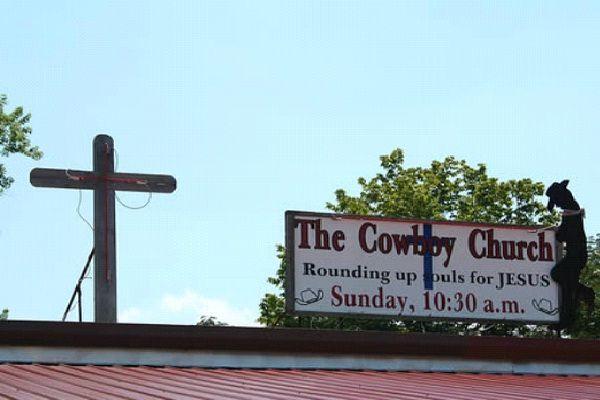 The Cowboy Church-Bizarre Church Names
