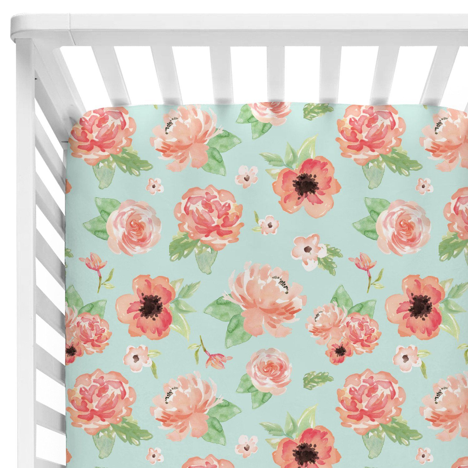 wonderful mint and arrow in polka sheets piece of peanut dots shell green floral size sheet conjunction patchwork baby full cribs sheetr the crib snuggle fitted swaddlings coral as bedding pink well organic girl with medallions sets blankets set