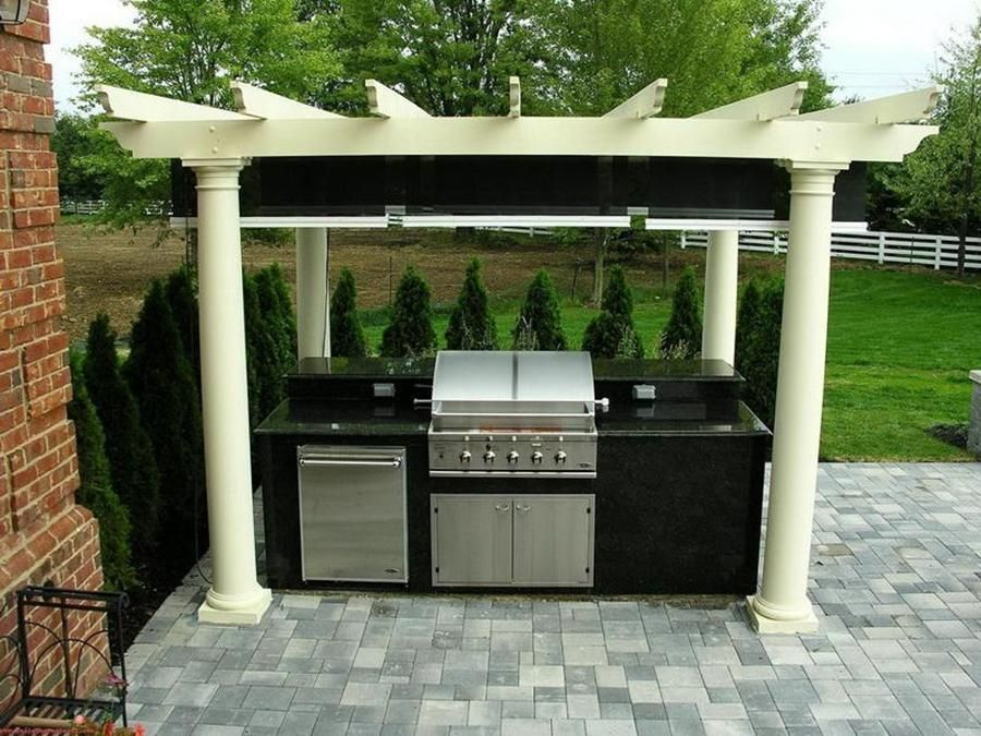 Outdoor Kitchen Designs With Roofs Outdoor Kitchen Roof Ideas Wooden Cabin Or Concrete House
