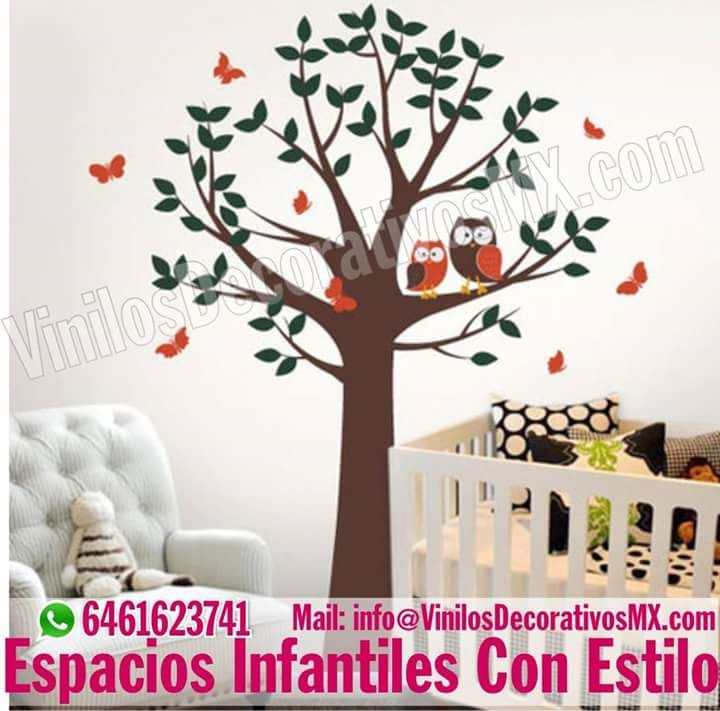 Pin de ideas bonitas y detalles en vinilos decorativos for Arboles decorativos para jardin