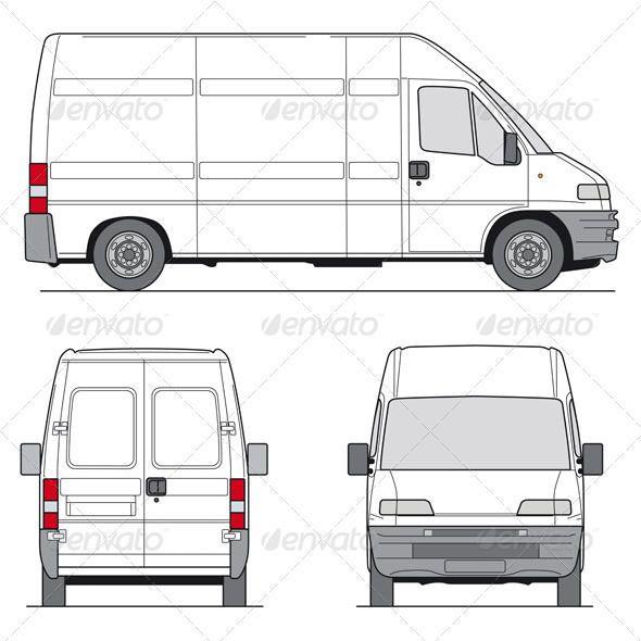 delivery van template vans font logo and fonts. Black Bedroom Furniture Sets. Home Design Ideas