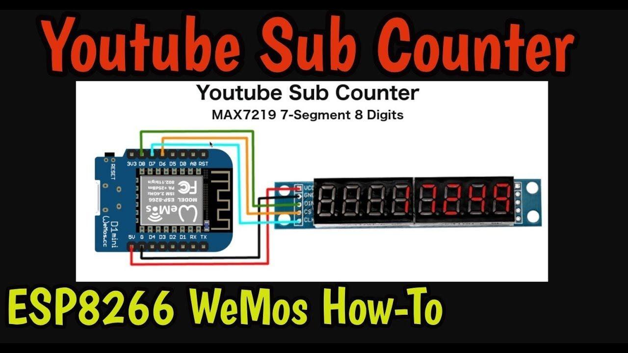 Youtube sub counter
