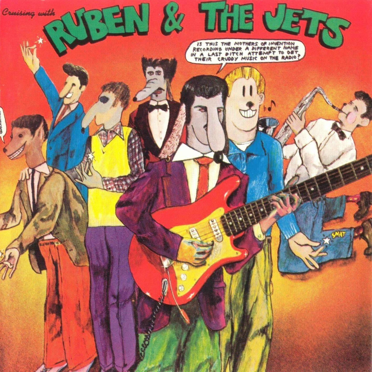 Frank Zappa Ruben And The Jets 1968 Albumhoezen