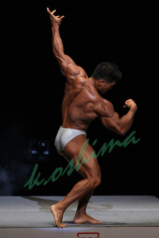 Aikawa Koichi (相川 浩一, Japanese Bodybuilder) at Japan National Competition