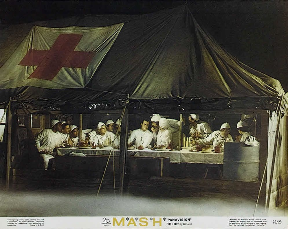 Image result for mash (film) - the last supper