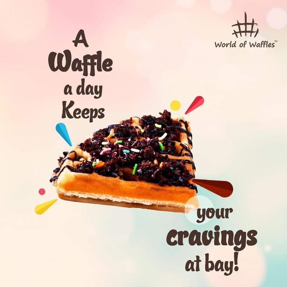 A Waffle a day keeps your cravings at bay! Relish the deliciousness of our waffles at and keep your cravings at bay!