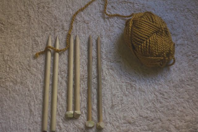 Always Rooney: Make Your Own Knitting Needles