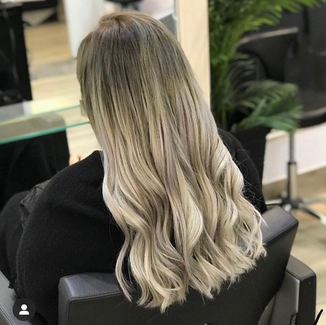 Stunning Ash Blonde .