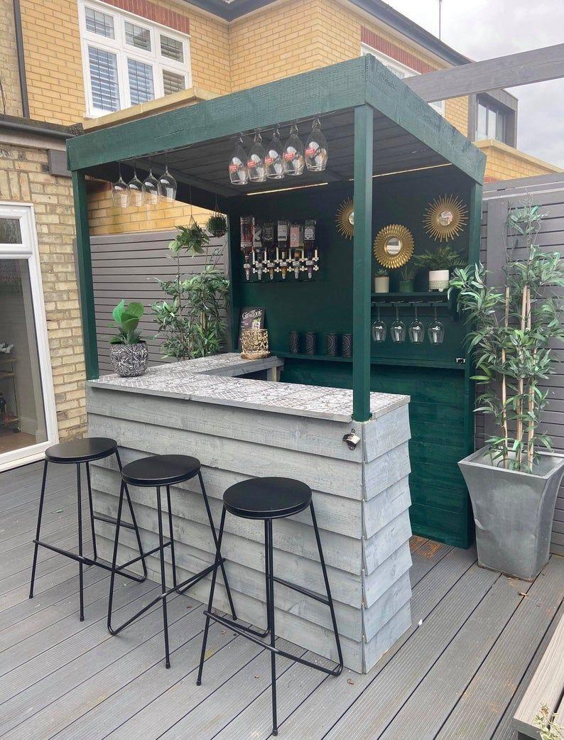 Garden Bar - New Lower Price - Treated Wood - Barbaydos