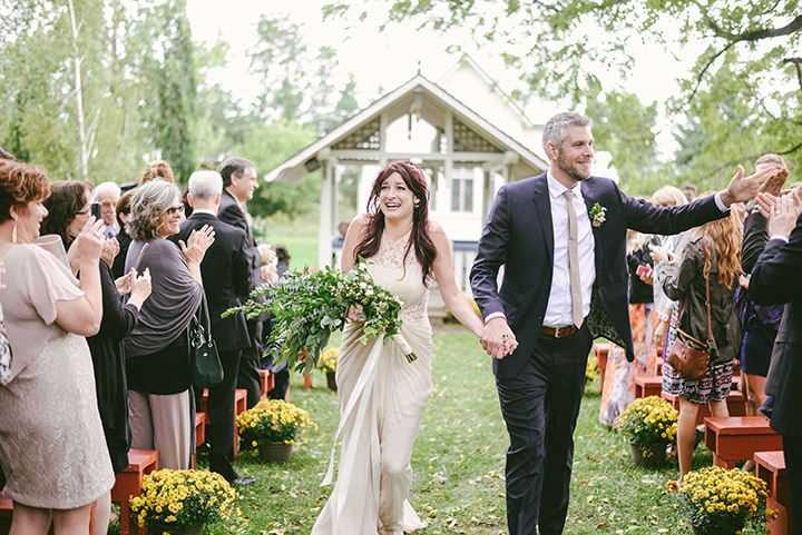 Rachel And Matthews Rustic Music Filled Canadian Wedding By Megan