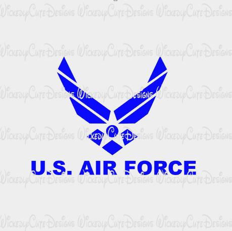 Download US Air Force Emblem SVG, DXF, EPS, PNG Digital File ...