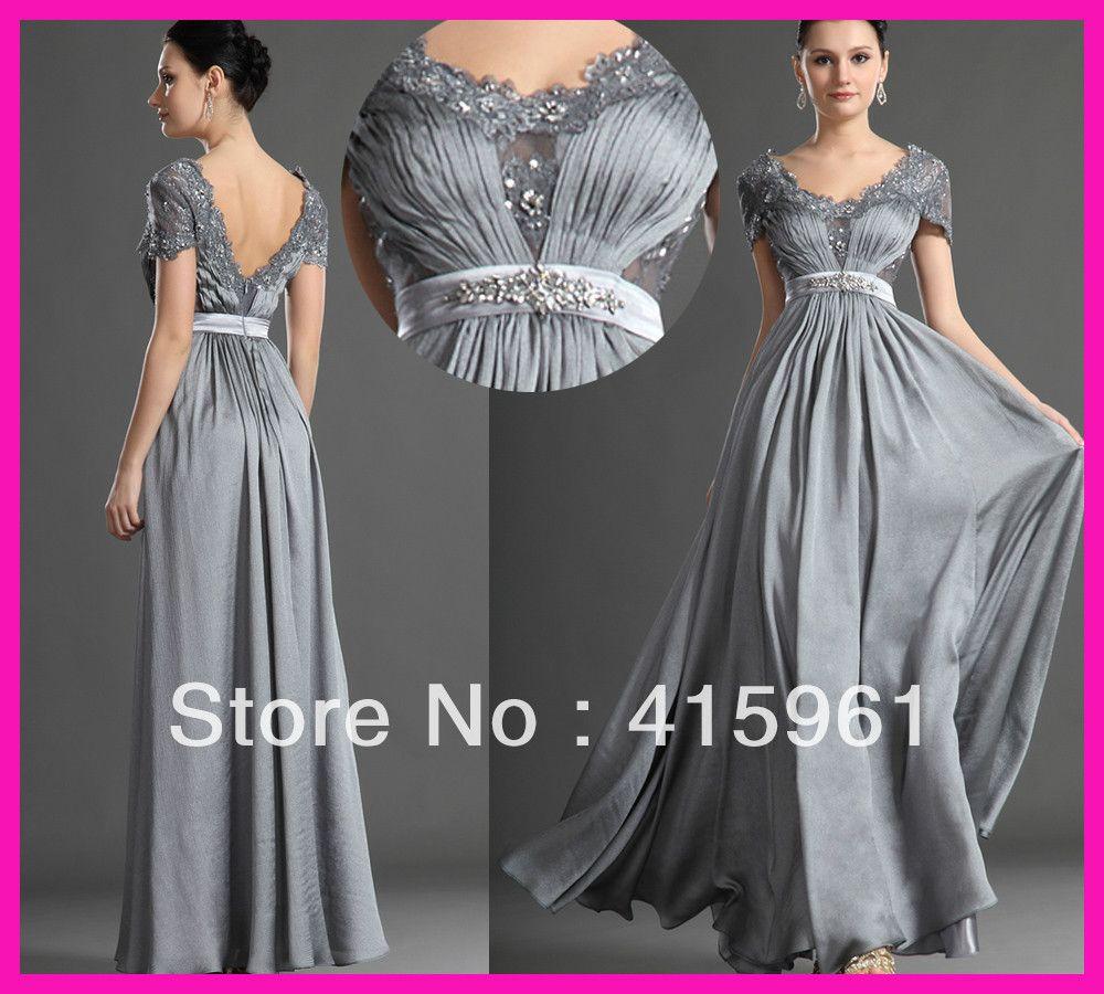 Vestidos de noche bodas de plata