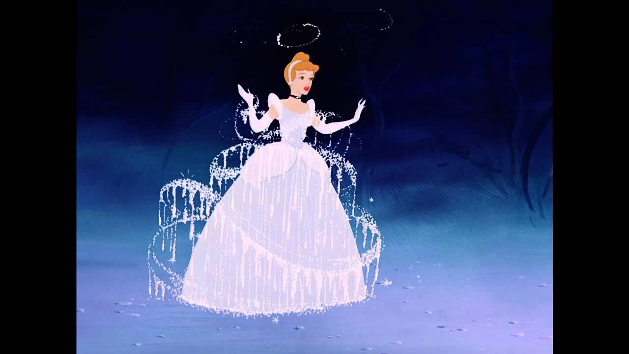 Cinderella Diamond Edition Dress Transformation Clip Disney Princess Cinderella Disney Princess Cinderella