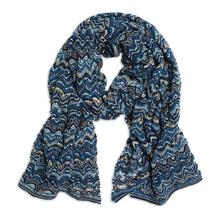 Missoni inspired scarf from Lindex