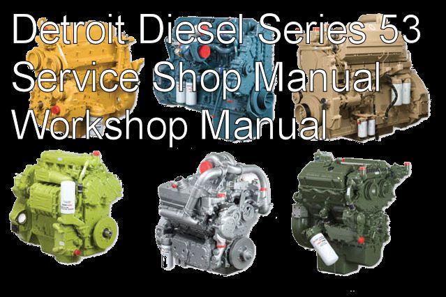 Details about Detroit Diesel Series 53 2-53 3-53 4-53 6V-53