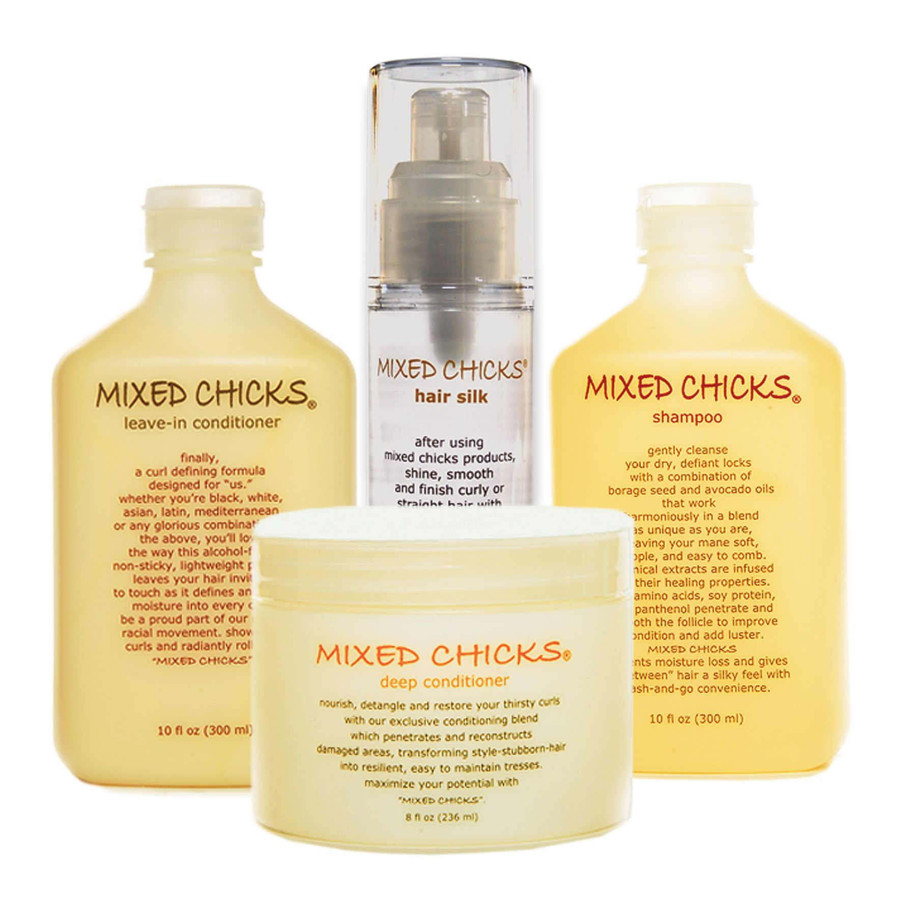 LeaveIn Conditioner Mixed chicks hair products, Mixed