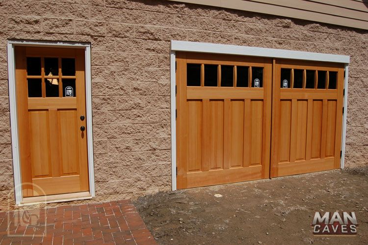 Beautiful Carriage Doors And Matching Entry Matching Garage Door