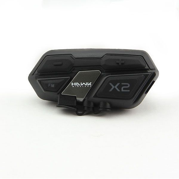 481efcfbc1e Hawk X2 Black Bluetooth Motorcycle Helmet Wireless Communication Headset # Hawk #Motorcycle