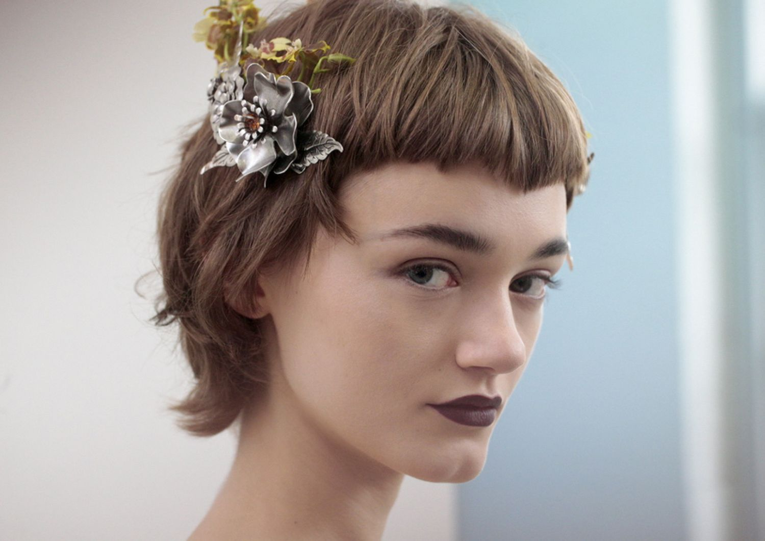 The New Floral Crowns Are Gilded and Gothic—Courtesy of Rodarte