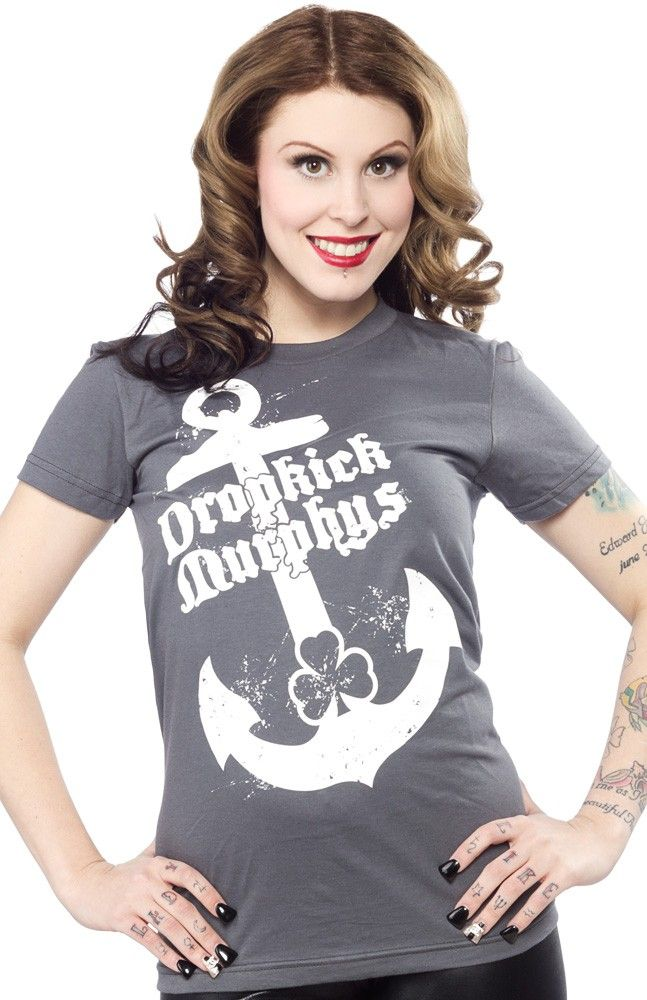 9441ea38 Dropkick murphys anchor girls tee   Pinterest   Dropkick murphys ...