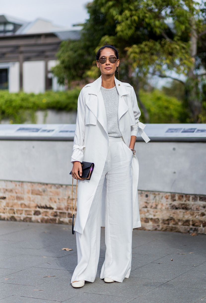30 Stunning Ways to Wear Winter Whites ThisSeason