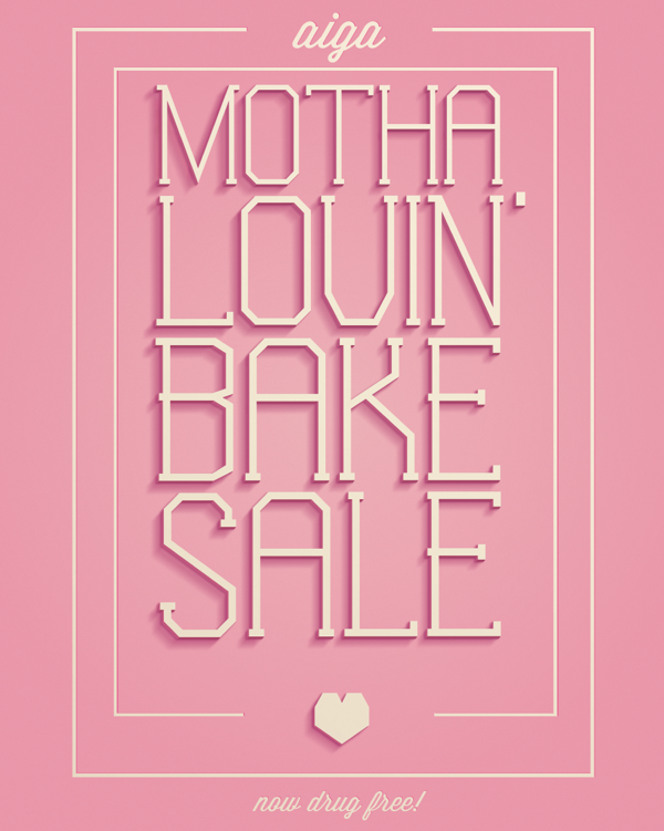Aiga Valentine S Day Bake Sale Poster By Jason A Mcclintock Via