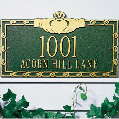 Shop Wayfair for Address Plaques, Lettering & Numbers to match every style and budget. Enjoy Free Shipping on most stuff, even big stuff.