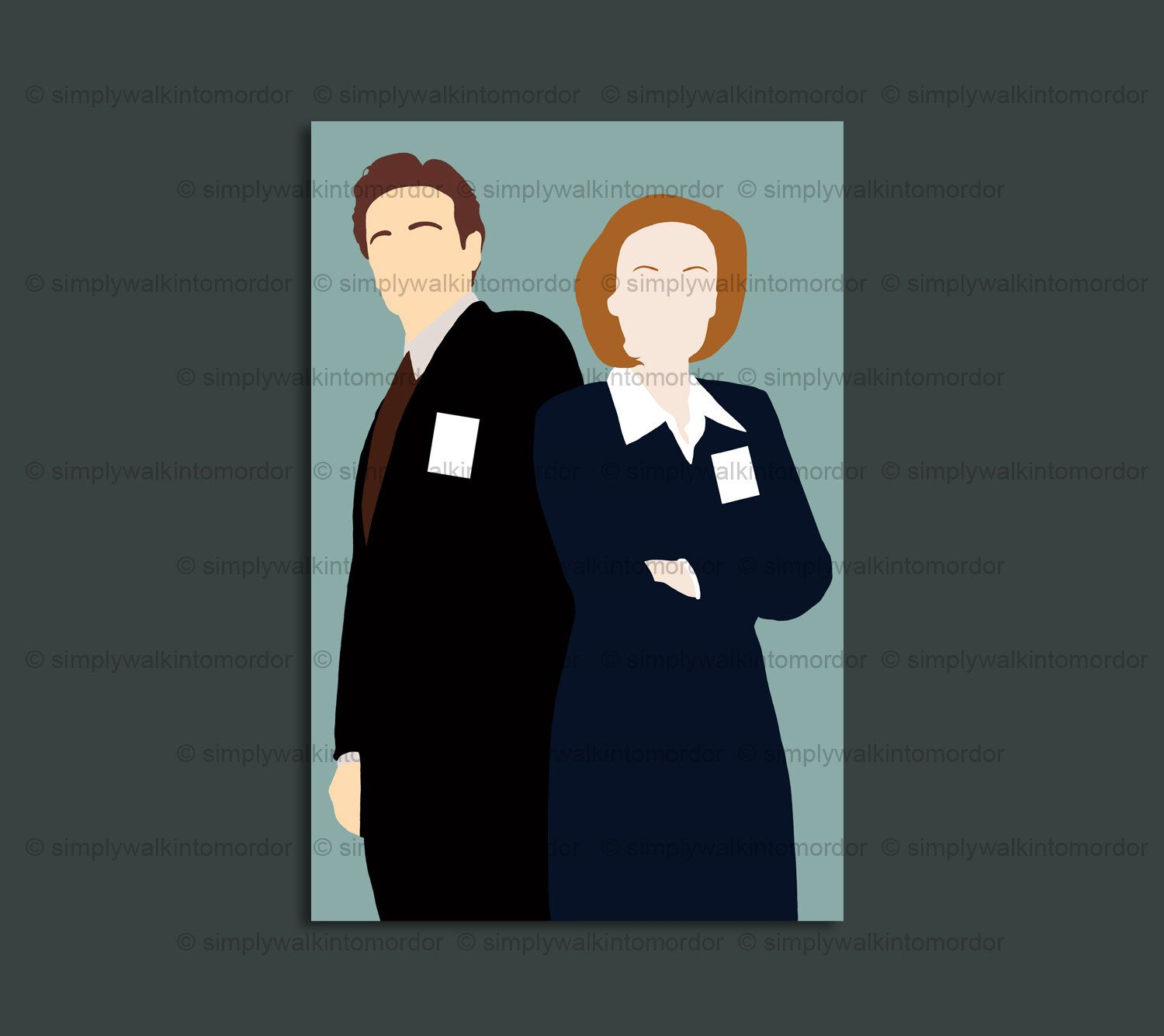 Pin by Angela Spencer on X-FILES | Dana scully, Scully, Art prints