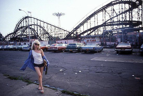 Debbie Harry, the Coney Island Cyclone, the Parachute Drop.