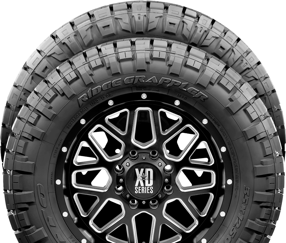 Nitto Tire engineers high performance tires for trucks off roading