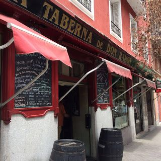 La Taberna De Don Ramon Restaurantes Bcn Tiendas Antiguas Terrazas Madrid