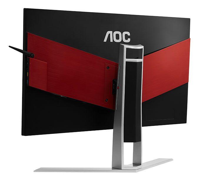 AOC Agon AG271UG : nouveau moniteur Gaming 4K Nvidia G-Sync - AG271UG, le tout premier moniteur 4K de sa gamme Gaming Agon - un modèle 27 pouces à dalle IPS et résolution UHD, idéal pour un rendu ultra détaillé des images et une extrême précision des couleurs.