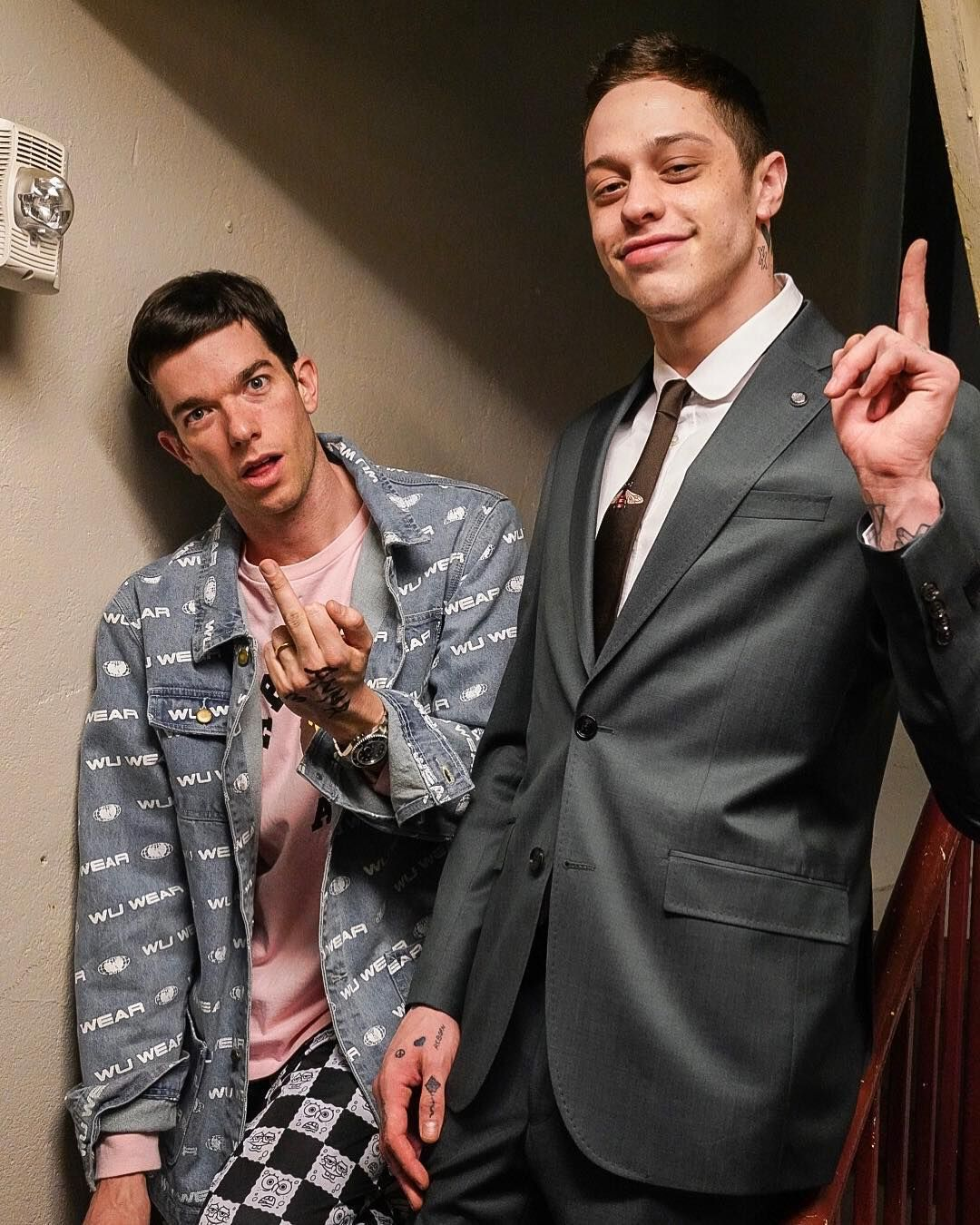 """John Mulaney On Instagram: """"we Switched Clothes For The"""