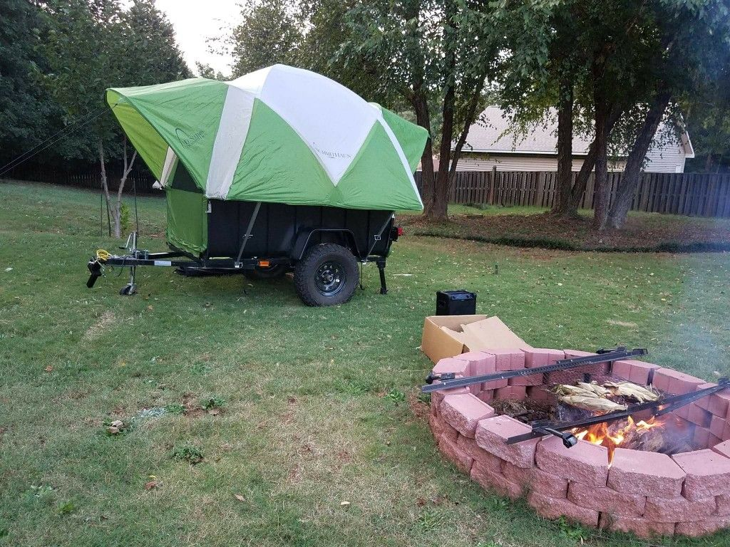 Tiny tent trailer. & Tiny tent trailer. | Campers | Pinterest | Tent trailers and Tents
