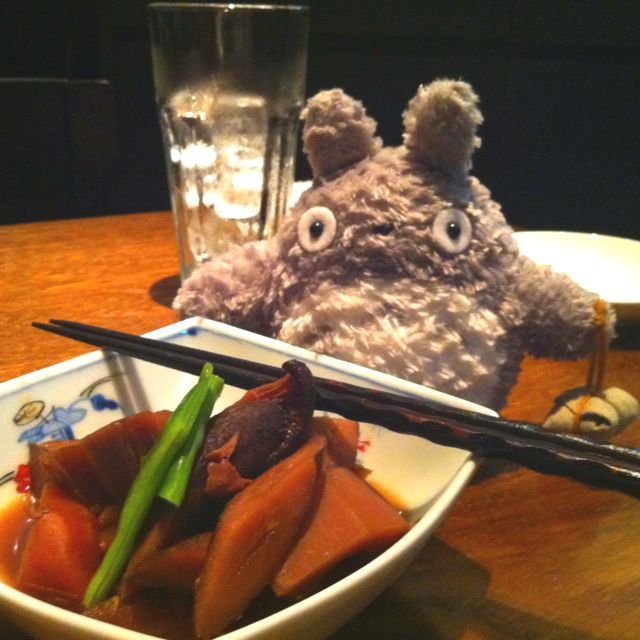 Totoro and Japanese cuisine