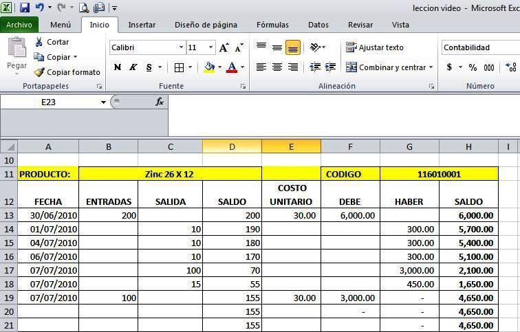 Excel-para-inventariosjpg (756×483) Fitness Pinterest - formato inventario en excel
