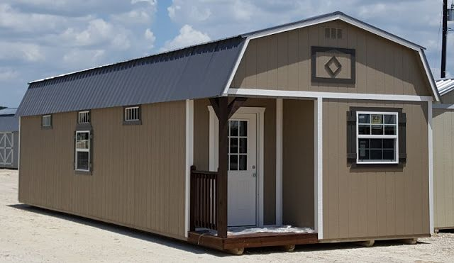 Wolfvalley Buildings Storage Shed Blog : 14x40 Lofted Cabin
