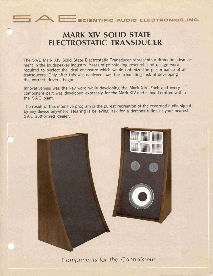 SAE speaker Loudspeaker Technology in 2019 Audio