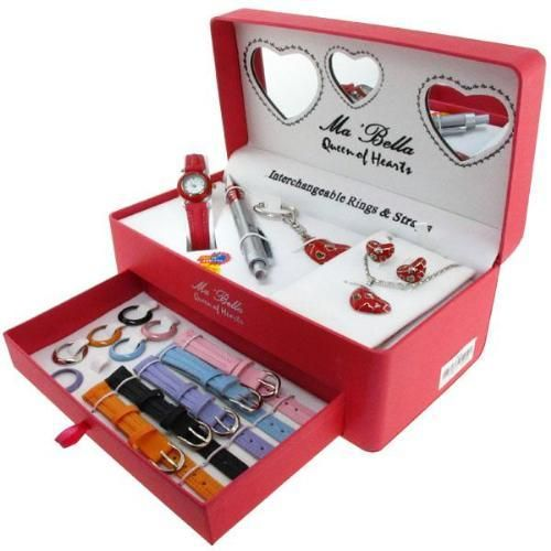Ma Bella Red Watch Pen gift set CLEARANCE PRICED