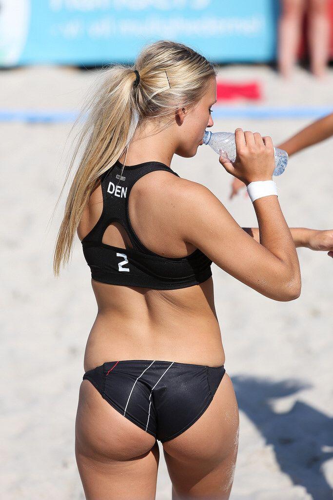 Danish Beach Handball Player  Women Volleyball, Handball-7855