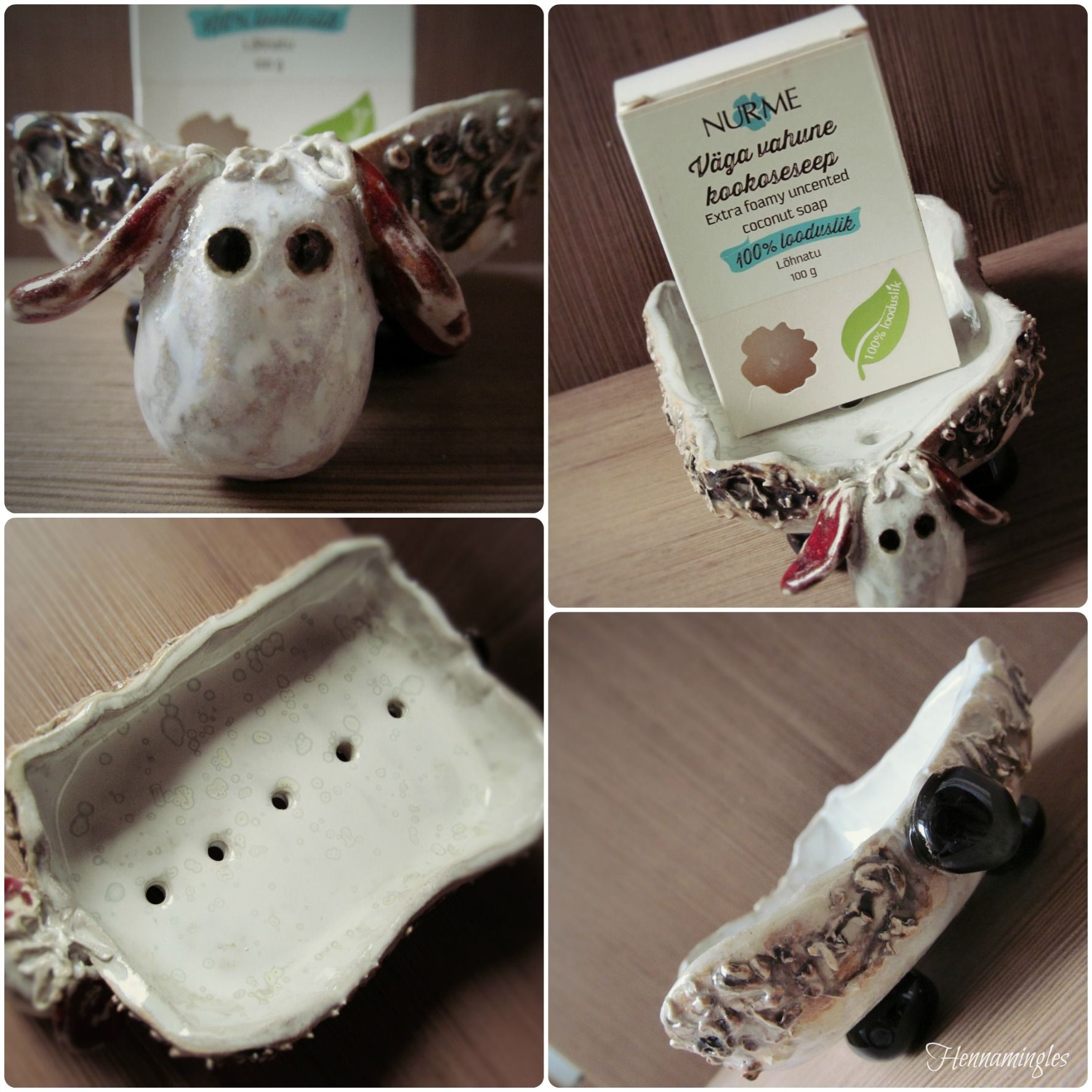 Sheep-soap dish