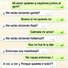 Conversaciones Por Whatsapp Con Tu Novia Funny Spanish Memes Funny Memes Spanish Jokes
