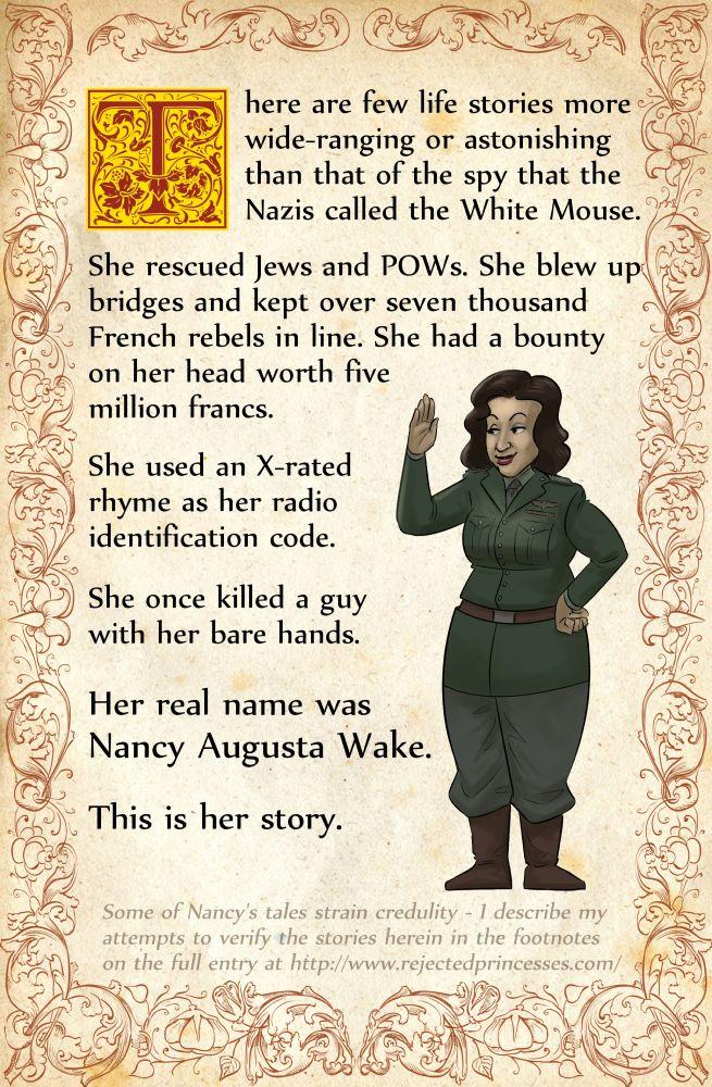 Nancy Wake: The Spy With The 5 Million Franc Bounty