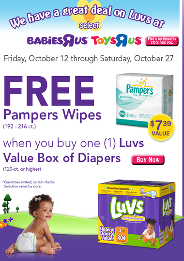 toys r us coupon pampers