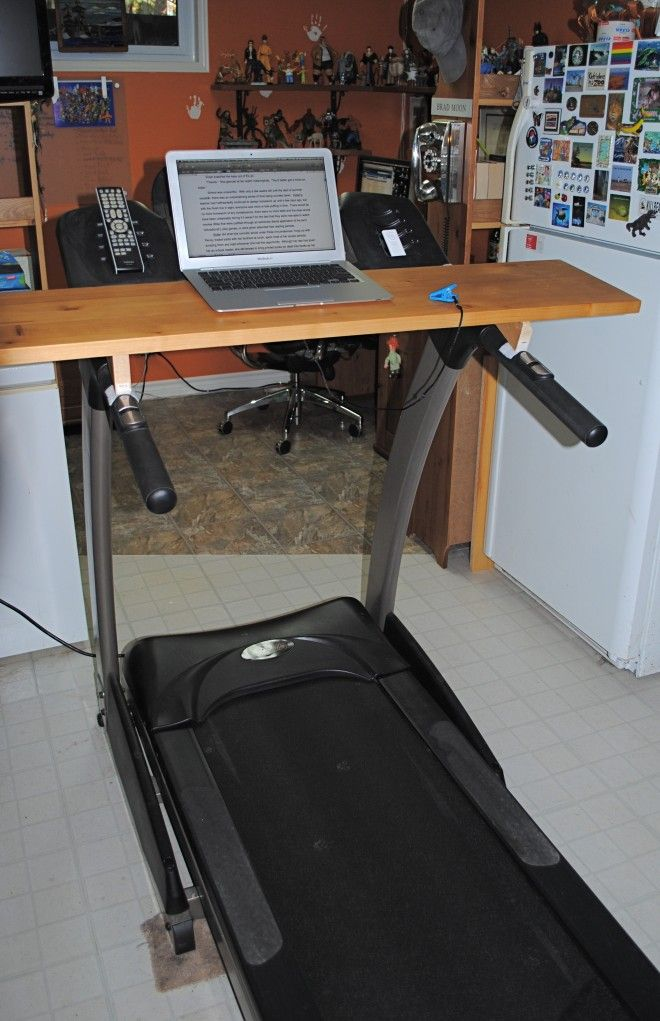 High Quality MacGyvering Your Own Treadmill Desk
